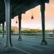 The Pont de Bir-Hakeim bridge — Stock Photo