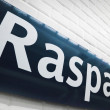 Raspail metro station — Stock Photo