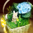 Easter basket — Stock Photo #40728417