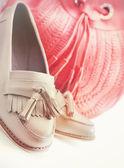 Shoes and bag — Zdjęcie stockowe