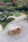 Japanese Dry Landscape Garden — Stock Photo