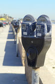 Parking Meters — Stock Photo