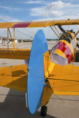 Biplane — Stock Photo