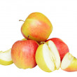 Some apples — Stock Photo