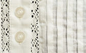 Element of batiste blouse — Stock Photo
