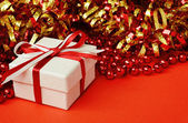 Gift box for holiday — Stock Photo