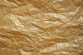 Crumpled baking paper — Stock Photo