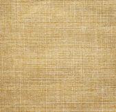 Beige linen fabric — Stock Photo