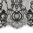 Black lace edge — Stock Photo #31599421