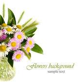 Bouquet di fiori di campo — Foto Stock