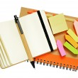 Notebooks and pens — Stock Photo #41881141