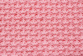 Pink crochet background — Stock Photo