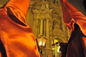 Traditional holy week in spain celebration of religion and faith — Stock Photo