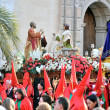 Постер, плакат: Traditional faith and religious demostration of spain holy week