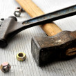 Plumbing or construction tools hardware — Stock Photo