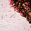 Spice indian peppercorns for oriental elaboration spicy recipes — Stock Photo