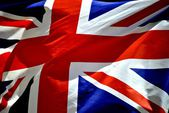 United kingdow flag union jack flag — Stock Photo