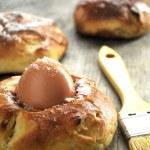eieren voor viering van pascua dag in Oost-Europa — Stockfoto #32299351