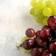 Stock Photo: Grape fresh fruit of final summer vineyard production wine drink