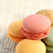 Macarons traditional french pastry elaborations — Stock Photo