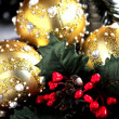 Christmas ornaments time celebration new year and xmas time — Stock Photo #35800097