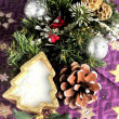 Christmas ornaments time celebration new year and xmas time  — Foto de Stock