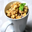 Healthy cereal breakfast morning diet  — Stock Photo