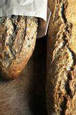 Making bread cereal wheat elaboration bakery shop — ストック写真