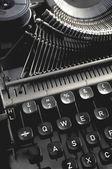 Old vintage typewriter machine — Foto Stock
