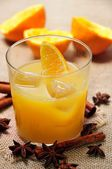 Orange cocktail — Stock Photo