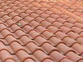 Sfondo texture tetto rosso — Foto Stock