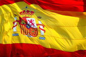 Spain national oficial flag symbol — Stock Photo
