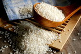 Rice nutrition oriental alimentation — Stock Photo