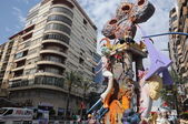 Alicante Fallas Festival Saint Jhon festivity. — Stock Photo