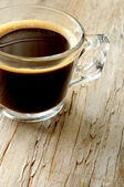 Coffee expresso and capuccino — Stock Photo