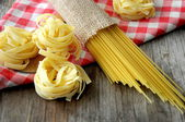 Italian gourmet food backgrounds — Stock Photo
