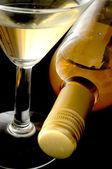 White wine cocktail — Stock fotografie