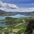 Zahara reservoir - Stock Photo