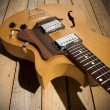 Vintage jazz guitar - Photo