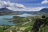 Zahara reservoir — Stock Photo
