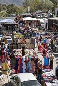 Spanish flea market — Stock Photo