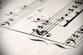 Notation musicale — Photo