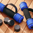 Stock Photo: Dumbbells