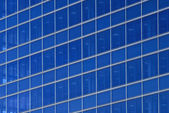 Blue linear pattern — Stock Photo