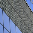 Stock Photo: Linear patterns of building front