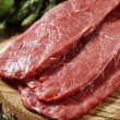 Beef steaks — Stock Photo