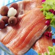 Salmon fillets — Stock Photo #25244599