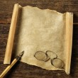 Antique parchment — Stock Photo