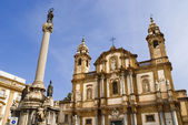 Chruch of palermo — Stock Photo