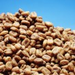 Corn kernels heap — Stock Photo